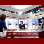 Débat à propos de la retraite des femmes
