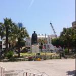 Visite des lieux de la révolution tunisienne