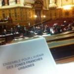 Sénat: adoption d'une taxe sur les transactions financières et prolongation du dispositif fiscal des ZFU