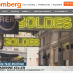 Perte du triple A : mon intervention (en anglais) sur BloombergTV
