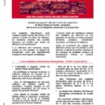 Présentation de mon rapport sur «les nouvelles menaces des maladies infectieuses émergentes»
