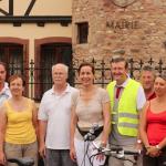 Compte rendu de la visite du secteur d'Obernai et Bourgheim  Dimanche 28 juillet 2013