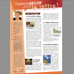 Ma lettre d'informations – Août 2013
