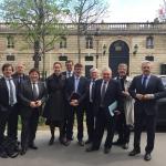 ALSTOM : rencontre à l'Elysée avec les conseillers du Président