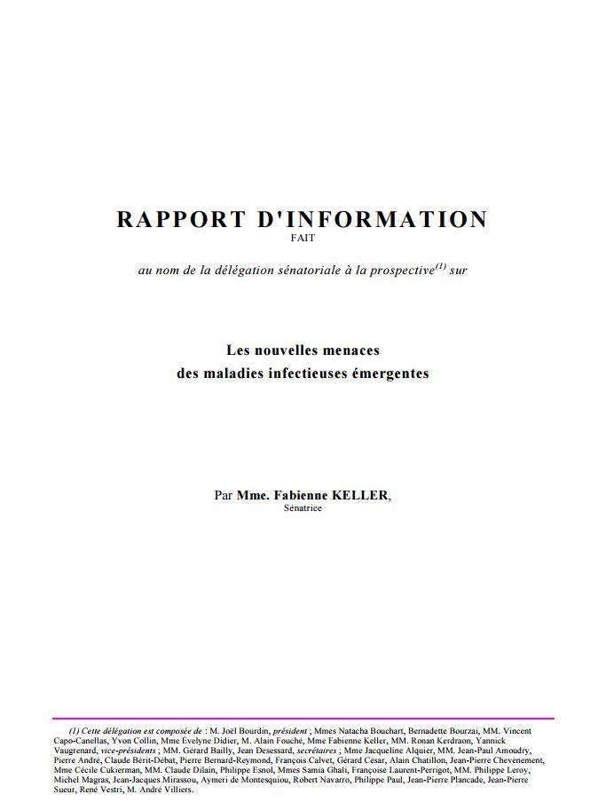Rapport d'information