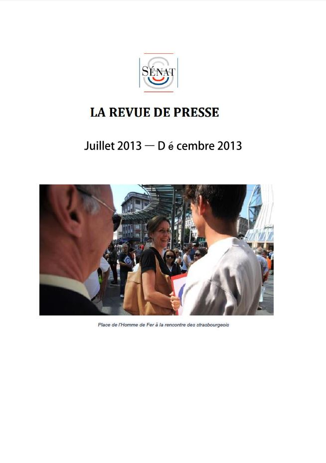 Revue de presse 2013-2