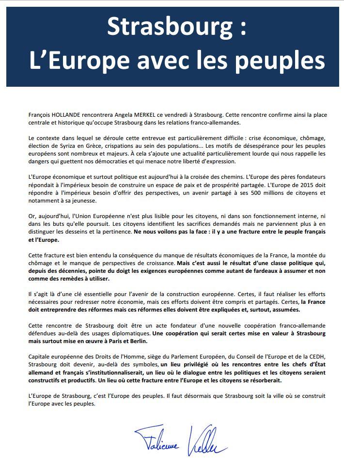 L'Europe avec les peuples